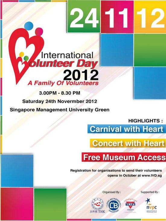 International Volunteer Day 2012 | SG Volunteer