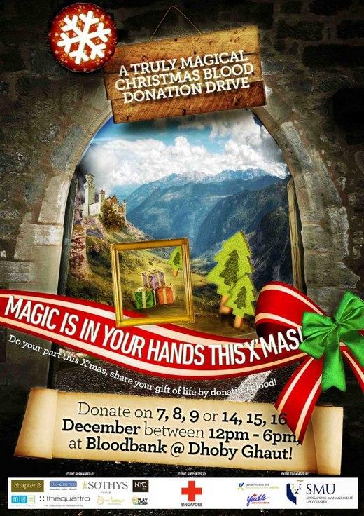 Christmas Blood Drive.Smu Magical Christmas Blood Donation Drive Sg Volunteer