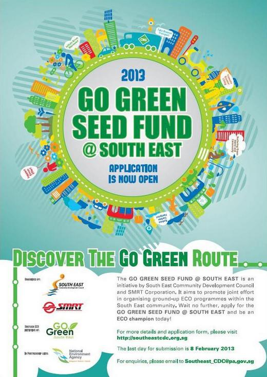 Go Green Seed Fund @ South East 2013