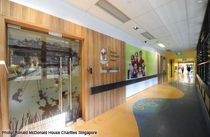 Home away from home for families with children in hospital
