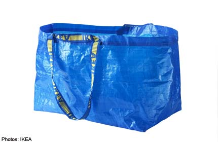 IKEA to stop disposable shopping bags completely in March