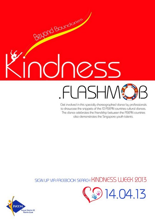 Kindness Week 2013 - Volunteer for Mega Kindness Flashmob