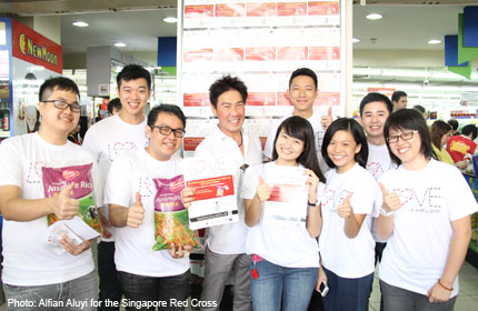 Red Cross Youth volunteers mobilised for Project RICE 2013