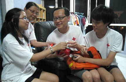 Red Cross events as family trips