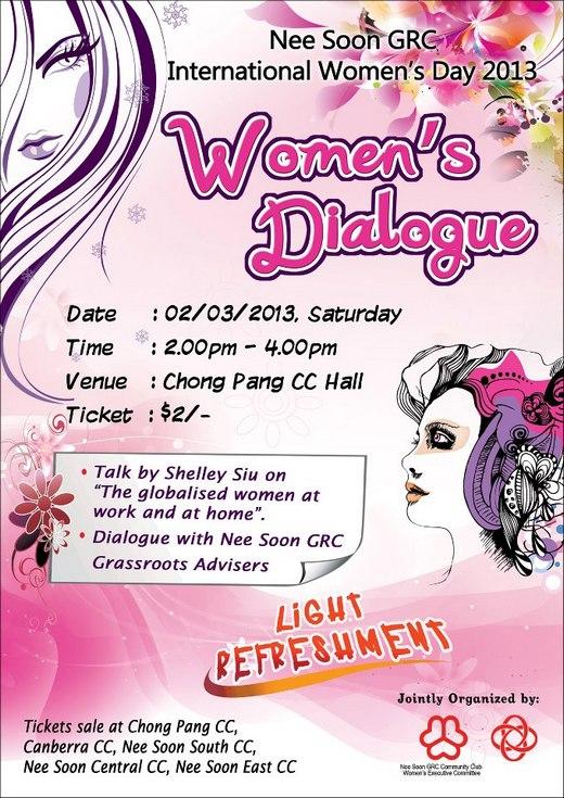 Nee Soon GRC International Women's Day 2013