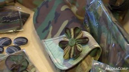 New lease of life for old army uniforms in S'pore