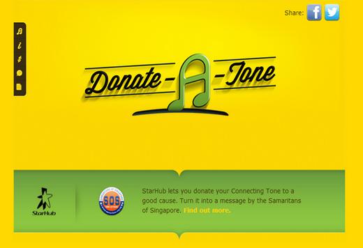 StarHub Donate-A-Tone
