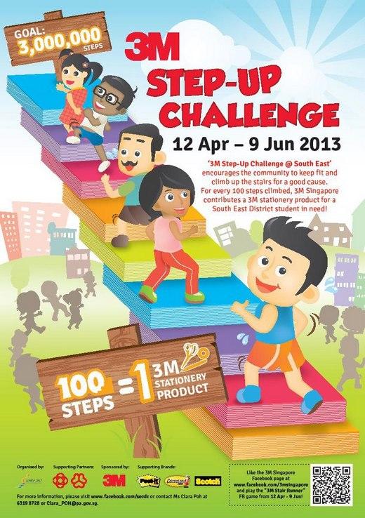 3M Step-Up Challenge 2013