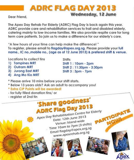ADRC Flag Day 2013