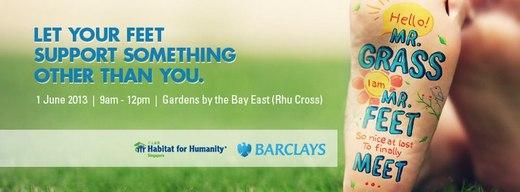 Habitat-Barclays Bare Your Sole Walk 2013