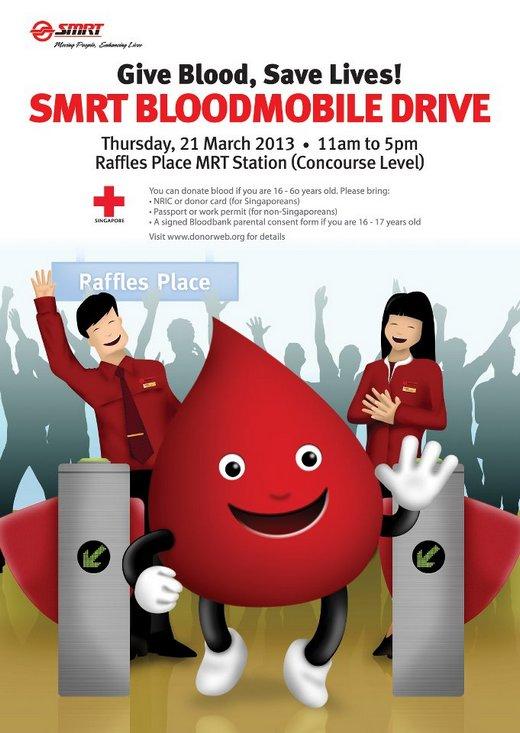 SMRT Blood Donation Drive (21 Mar 2013)