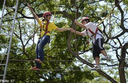 Scaling obstacles to bridge gap with disabled youths