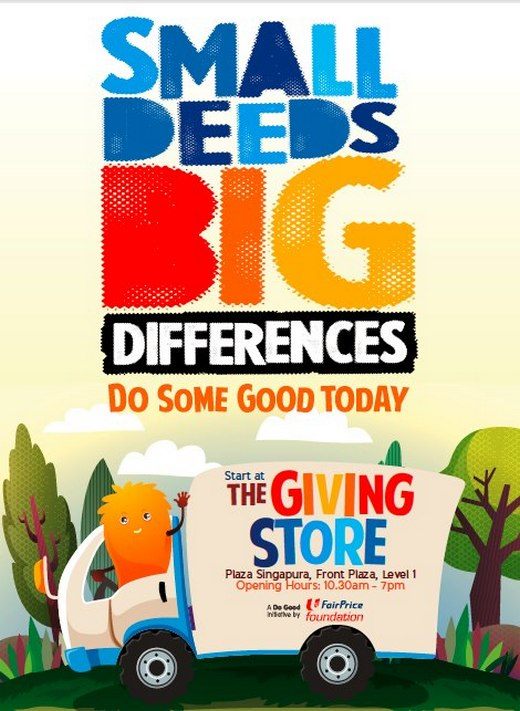 Small Deeds Big Differences - Do Some Good Today