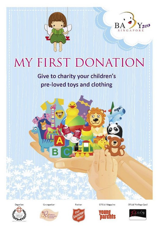 Donate your children's pre-loved toys & clothing!