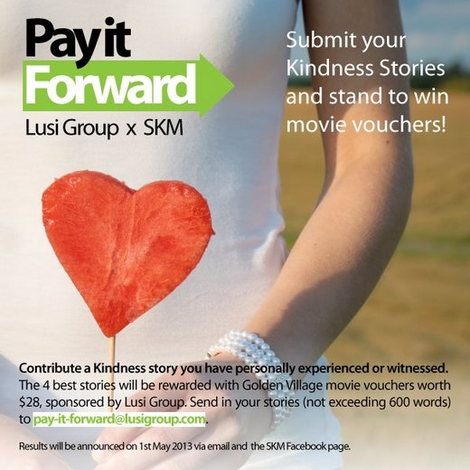 Lusi Group Pay It Forward - Share Your Kindness Stories!
