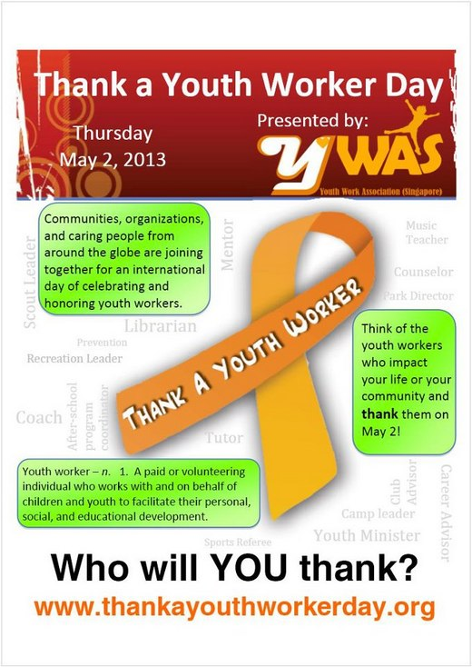 Thank a Youth Worker Day 2013