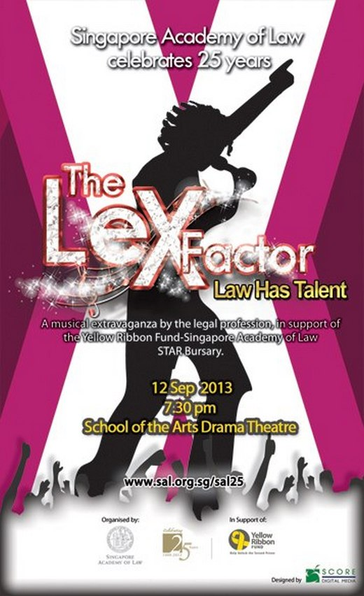 The Lex Factor Law Has Talent 2013 - Raising funds for Yellow Ribbon Project