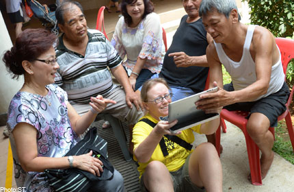 The People of S'pore- Every face tells a story