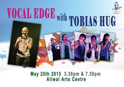 Vocal Edge with Tobias Hug 2013