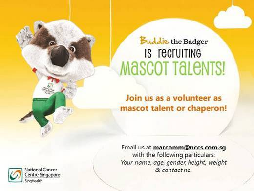 Volunteer as Mascot Talent or Chaperon!