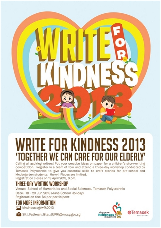 Write for Kindness 2013