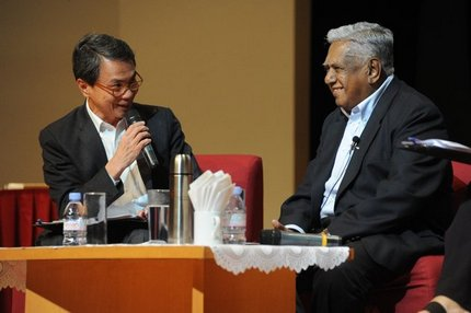 Former president Nathan urges more Singaporeans to volunteer