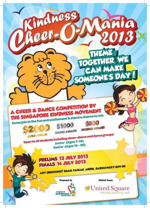 Kindness Cheer-O- Mania 2013