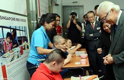 President Tony Tan lauds Singapore Red Cross' work