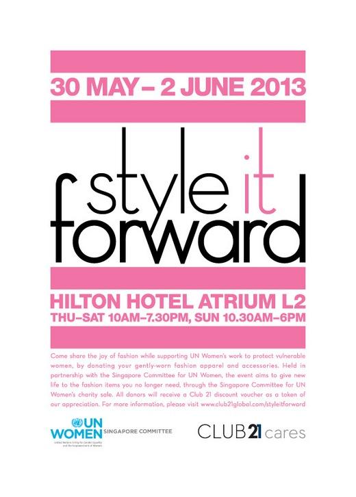 Style It Forward (30 May - 2 Jun 2013)