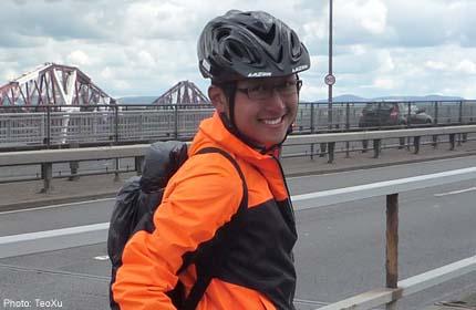 Undergrad attempts 600km trek in Britain