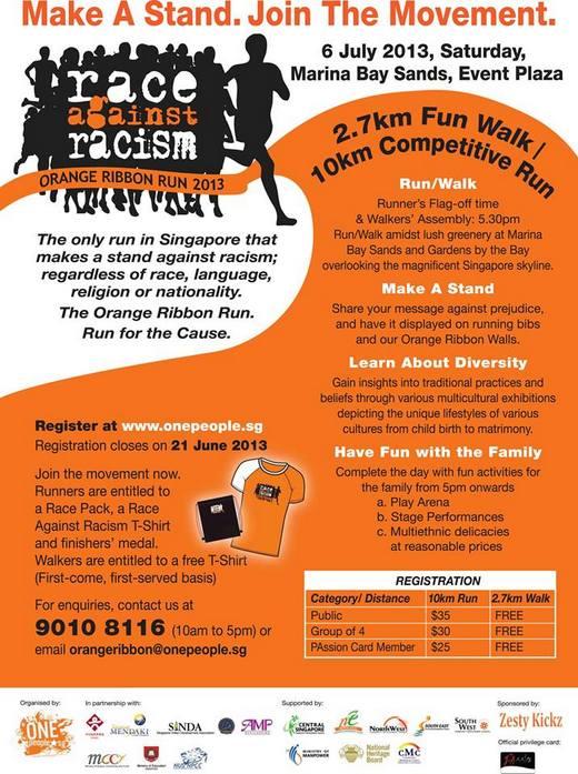 Orange Ribbon Run 2013