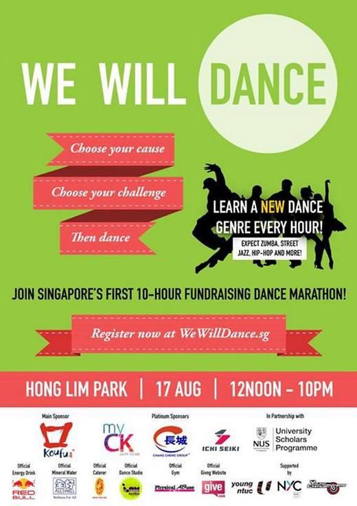 We Will Dance - Singapores First Fundraising Dance Marathon