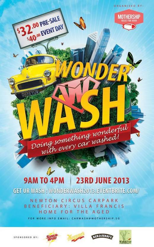 Wonder Wash Charity Car Wash Event (23 Jun 2013)