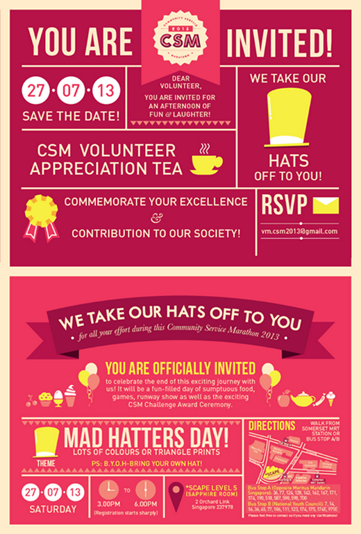 CSM Event We Take Our Hats Off to You