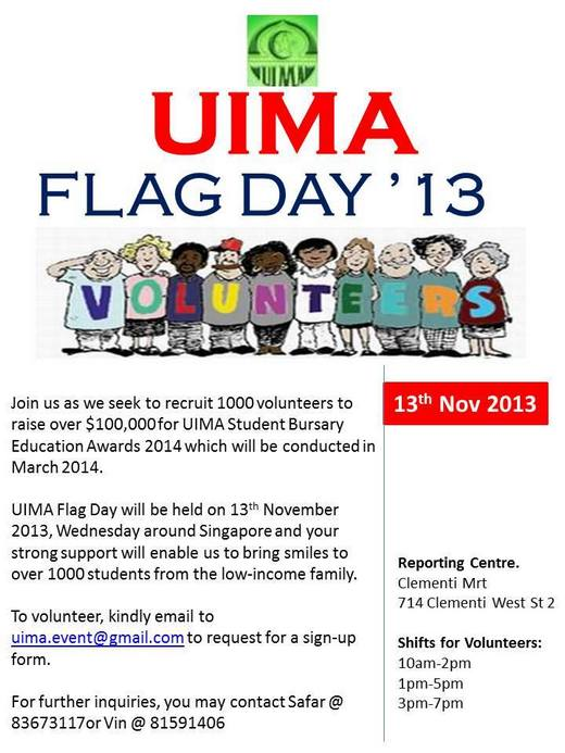 UIMA Flag Day 2013