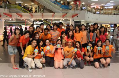 25 people danced for Singapore as part of the 2nd Annual Worldwide Dance for Kindness
