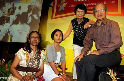S'pore volunteers honoured for helping needy kids to read