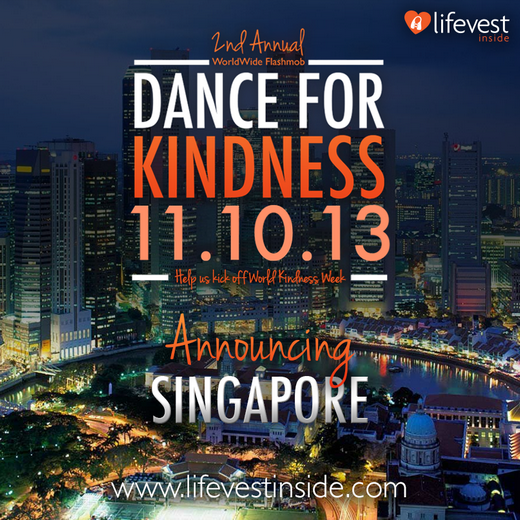 The Annual Worldwide Dance for Kindness is back!