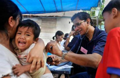 Bus takes medical care to the needy - for free