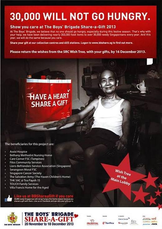 The Boys' Brigade Share-a-Gift 2013