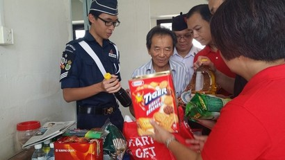 The Boys' Brigade hits the road to help the less priviledged