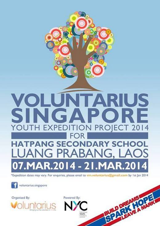 Voluntarius YEP 2014