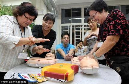 First Aid Corps plans network of volunteers to save lives