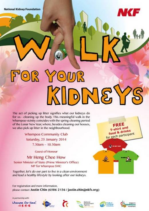 Join a Community Walk For Your Kidneys