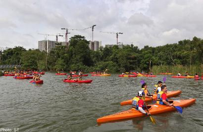 Singapore Canoe Marathon raises $40,000 for the para-canoeing community