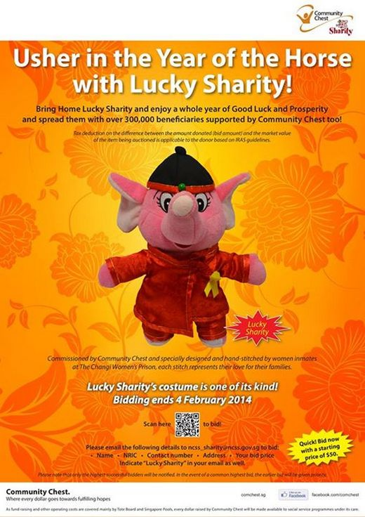 Usher in the Year of the Horse with Lucky Sharity!