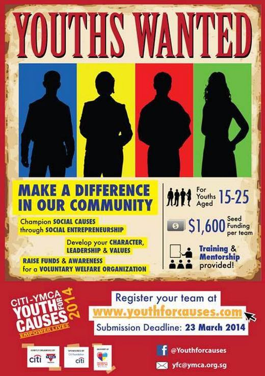 Citi-YMCA Youth For Causes 2014