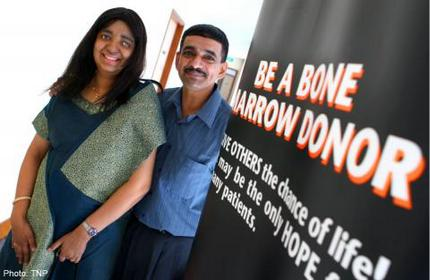 Last year, 73 people here were identified as potential bone marrow