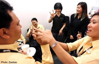 Tigerair staff learn to serve disabled better