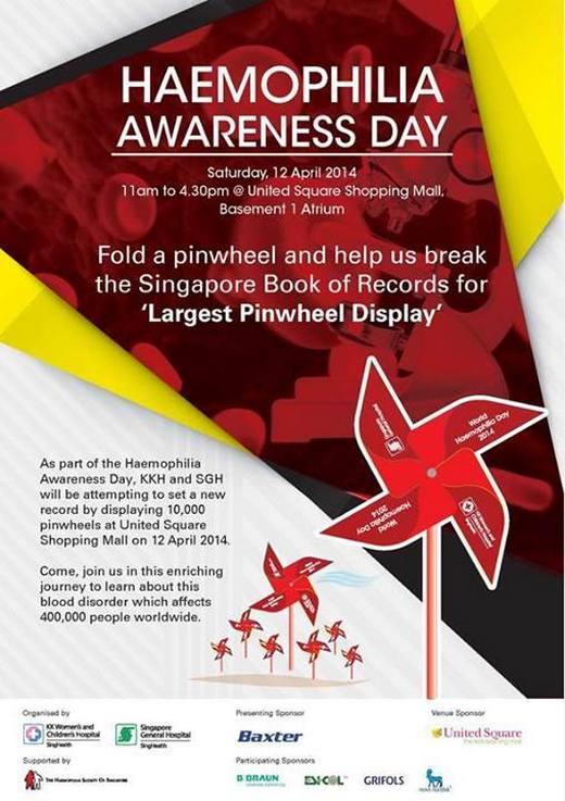 Haemophilia Awareness Day 2014